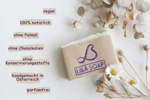 Duftfreie Seife - Vorteile